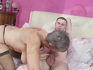 AgedLovE Got Used Hard by Mature to get the Loan