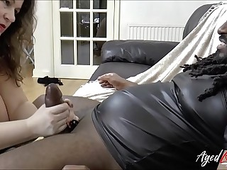 AgedLovE Mature Enjoying Big black cock in Mouth and Pussy