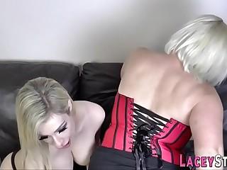 Pensioner eats blond