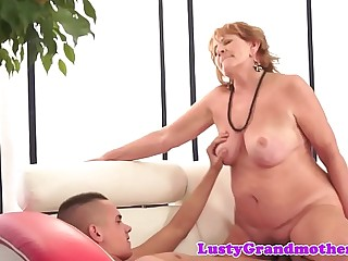 Roundass mature drilled by boyfriends cock