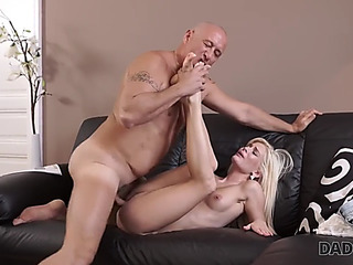 Daddy4k.fearsome glamorous stunner wanted to smack old schlong inside her cookie