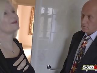 grandma fucks the real estate agent