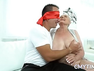 Absorbs granny loves to fuck hard with a huge cock