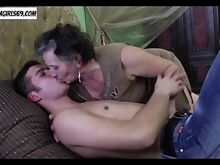Granny and her toyboy fucking  Join hotcamgirls69.com for free live camgirls